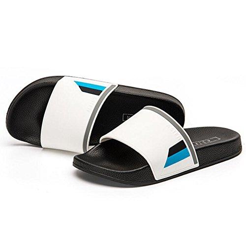 XIAOLIN Baño de verano antideslizante zapatillas de baño Inicio Hogar interior y exterior versión coreana de la marca Zapatillas de hombre (varios colores disponibles) (tamaño opcional) ( Color : 03 , 05