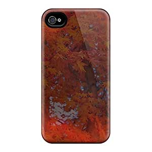 Awesome GqjbpWH5433HKexQ AnnetteL Defender Tpu Hard Case Cover For Iphone 4/4s- Sunlight Through Autumn Trees