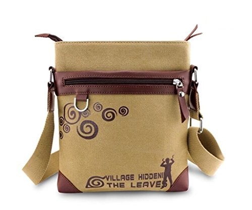 YOYOSHome Anime Naruto Cosplay Satchel Messenger Bag Shoulder Bag Handbag Crossbody Bag