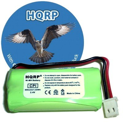 HQRP Cordless Phone Battery compatible with VTech BT162342 / BT262342 / 89-1347-01-00, Office Central