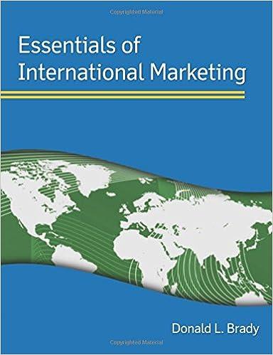 Book Essentials of International Marketing