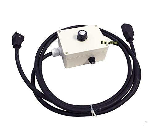 Arri Dimmer - KINOSUN 120V 1000W Light Dimmer 5~95% US Plug for 120V 150W 300W 650W 1KW Tungsten Light