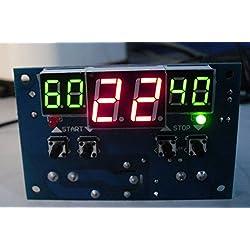 Digital Temperature,LtrottedJ LCD 12V Digital LED Display Thermostat Temperature Controller With NTC Sensor