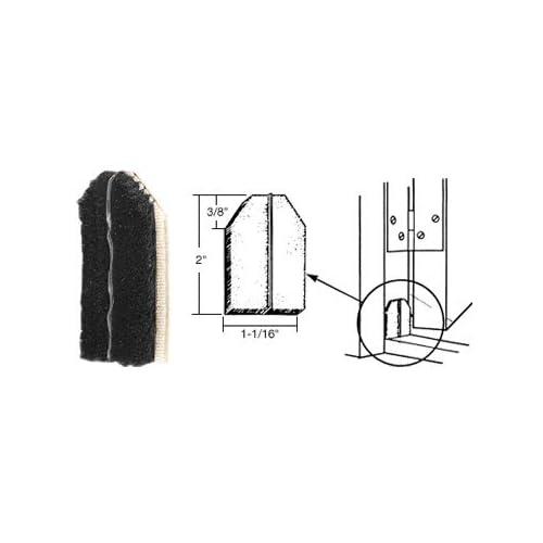 CRL Black Door Jamb Dust Pads - 10 Pack