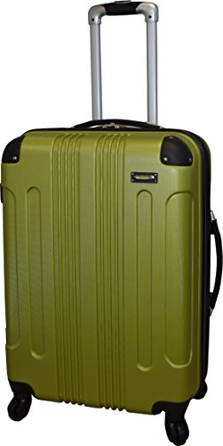 Kemyer 650 Series Hardside Wheeled Spinner 28 Inch Large Luggage Suitcase (Green) (28 Inch Wheeled Suitcase)