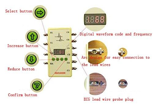 ECG Simulator ECG Signal Simulator Signal Generator 10-200bpm - Buy