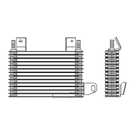 Oe Replacement Automatic Transmission Oil Cooler Assembly Ford Explorer 2006 2010 Partslink Fo4050108