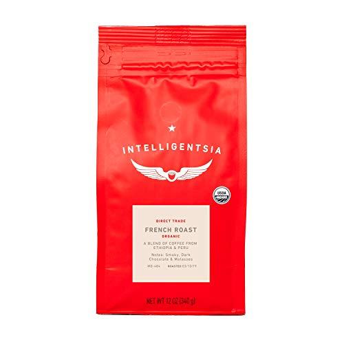 Intelligentsia Certified Organic French Roast - 12 oz - Dark Roast, Direct Trade, Whole Bean Coffee