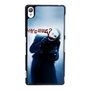 Special Design Cases Sony Xperia Z3 Cell Phone Case Black The Joker Kzacq Durable Rubber Cover