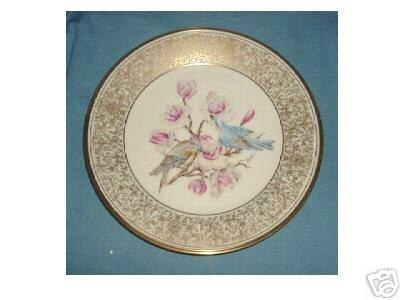 Lenox Mountain Bluebird by Boehm Collector Plate
