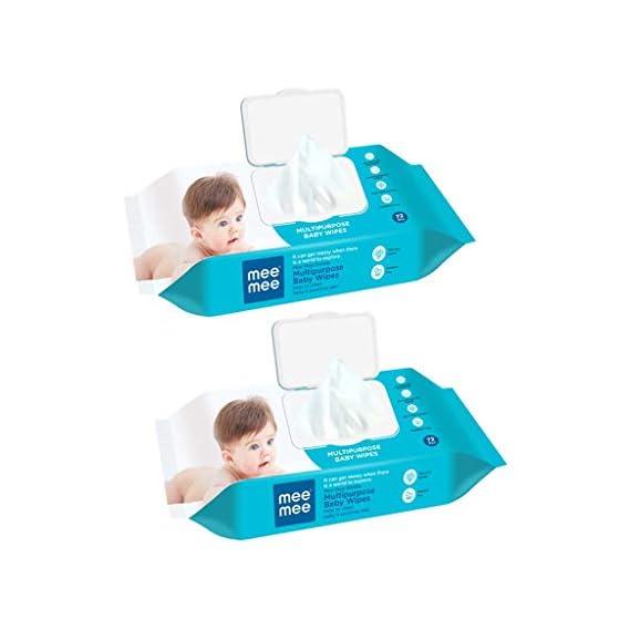 Mee Mee Gentle Baby Wipes (Multipurpose (Pack of 2))