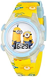 Universal Pictures Kids' DMEKD022FL Despicable Me Minions Digital Watch