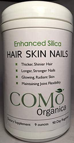 Enhanced Silica for Hair, Skin, and Nails 90 Day Supply