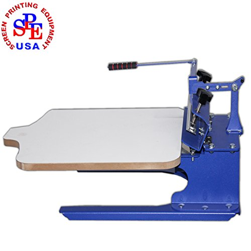 1 Color Screen Printing Press Simple Table Printer Cheaper Household Equipment by Screen Printing Machine Series