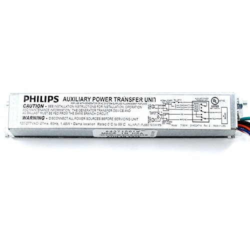 (Philips Chloride MTD Auxiliary Emergency Lighting Transfer Device, 120/277V)