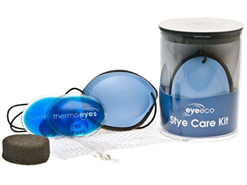 Eye Eco's Stye Care Kit (Blue, Left Eye)