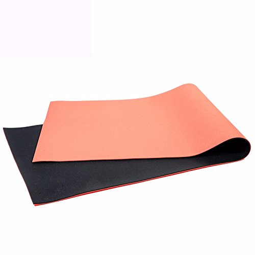 MDRW-Yoga Lovers Two Tone Thickening 6Mm Yoga Pilates Mat Anti Slip Beginner Yoga Pilates Mat Sports Fitness Mat 17361Cm Yoga Mat