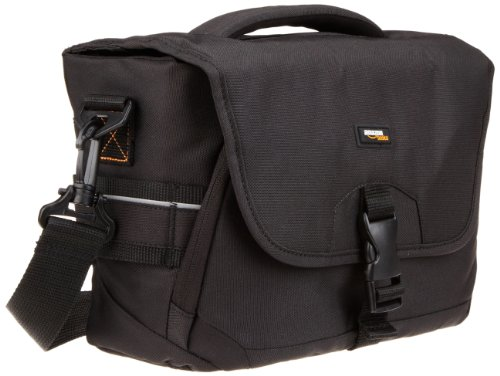 AmazonBasics Medium DSLR Gadget Bag (Grey Interior)
