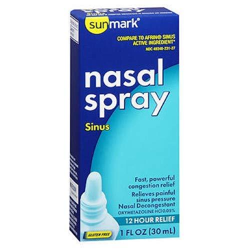 Sunmark Sunmark Sinus Nasal Spray, 1 oz (Pack of 3)