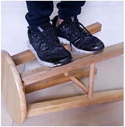 UNU_YAN Moderne Simplicité Repose-Pied Tabouret Changer de Chaussures Tabouret - Change Chaussures Tabouret Oak Chaise Table Basse Tabouret Petit Tabouret en Bois Tabouret-40Cm