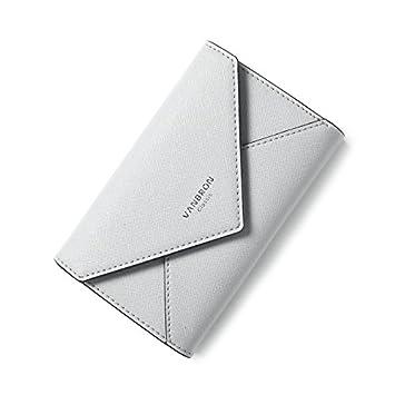 Nuevo estilo de moda patrón cruzado simple monedero Velcro ...