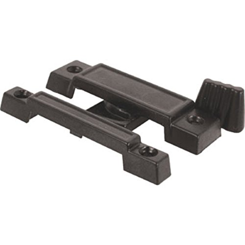 C.R. LAURENCE F2532B CRL Black Window Sash Lock With 2-1/4