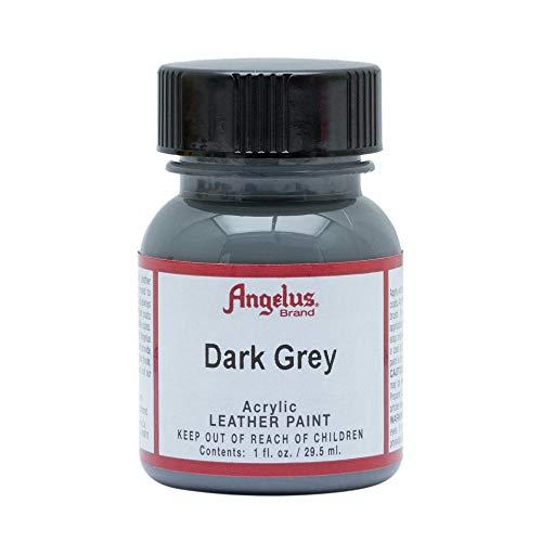 Angelus Dark Grey Acrylic Leather Paint