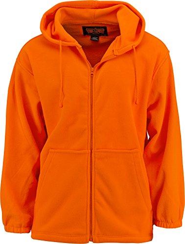 Blaze Orange Fleece - 2