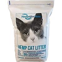 HempAlta Pets Premium Organic Hemp Cat Litter: All Natural, Lightweight, Unscented, Flushable & Low Dust