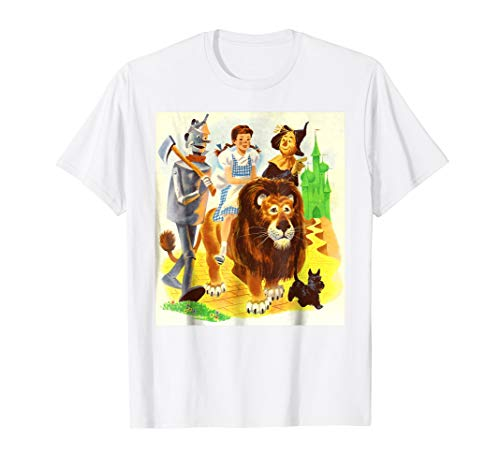Tin Man Scarecrow Lion Dorothy & Toto Wizard of OZ Shirt]()