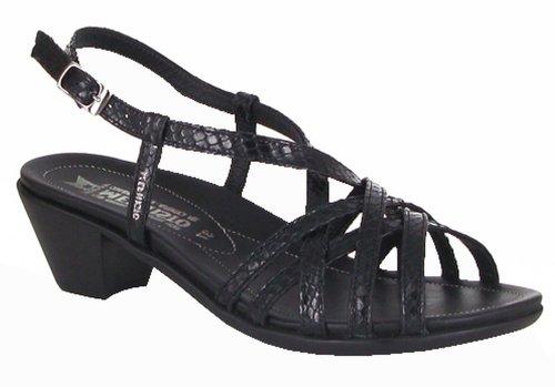 Mephisto-zapatillas-Sandale ETRA 3339-mujer piel, color negro