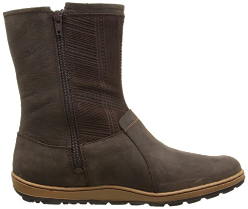 Merrell Ashland Vee Mid Waterproof Black Womens Boot sello de Brown