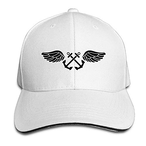 Jcaic Rinaa US Navy Aviation Boatswain's Mate Rating Badge Adjustable Baseball Caps Vintage Sandwich Cap ()