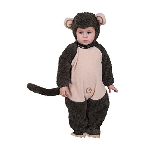 Cute Plush Monkey Costume (Cute Clown Costumes For Tweens)