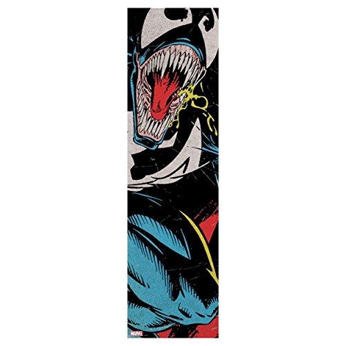 (Grizzly Chris Joslin x Marvel Venom Cover Skateboard Griptape)