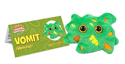 GIANTmicrobes Vomit Plush Toy