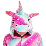 Adult Onesies for Women Girls Unicorn Costume Halloween Christmas Animal Pajamas
