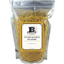 Beesworks® BEESWAX PELLETS, YELLOW, 1lb-Pesticide Free-Chemical Free-Cosmetic Grade-Must Have For Many Different Projects