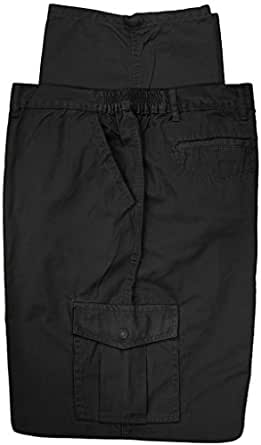 Full Blue Big & Tall Men's Cargo Pants 100% Cotton at ...