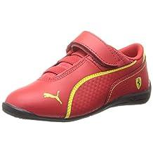 Puma Boys Drift Cat 6 Toddler Signature Athletic Shoes Red 5 Medium (D)