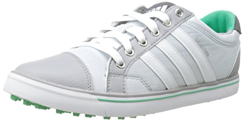 adidas Women's W Adicross IV Golf Shoe, Clear Grey/FTW White, 7.5 M US by adidas