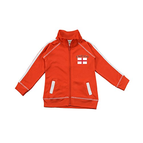 PAM GM Little Boys England Soccer Track Jacket 2 Years by Pam GM Concepts