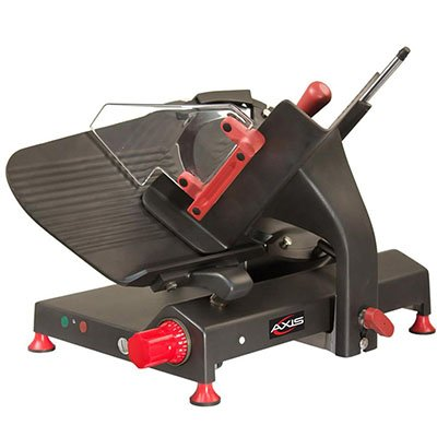Axis Equipment AX-S13GQ Gear Quantanium Meat Slicer, 13