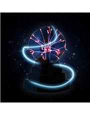 LEDMOMO Plasma bal lamp licht [Touch Sensitive] mistvlek bol nieuw speelgoed - USB of batterij aangedreven (batterij niet inbegrepen)