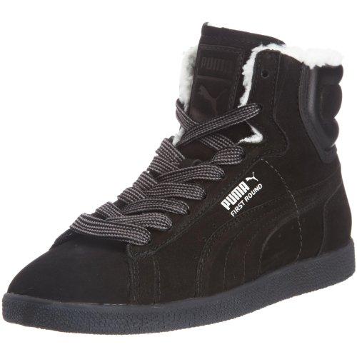 W Noir Puma Round 3 Femme Worker Chaussures First 350880 p6pwqPz