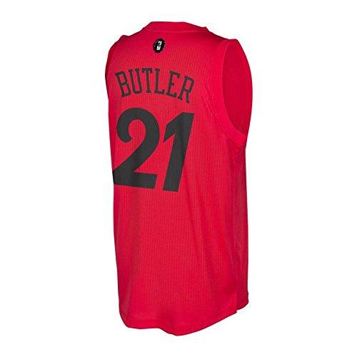 the best attitude 26f0b ec5e4 Jimmy Butler Chicago Bulls Adidas Christmas Day Swingman ...