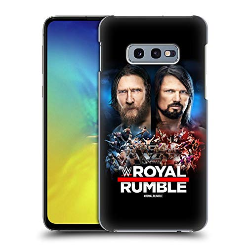 Official WWE Daniel Bryan and AJ Styles 2019 Royal Rumble Hard Back Case Compatible for Samsung Galaxy S10e (Daniel Bryan Case)