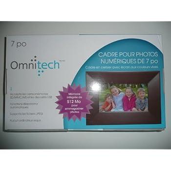 Amazon.com : Omnitech 7 in digital photo frame 512MB built