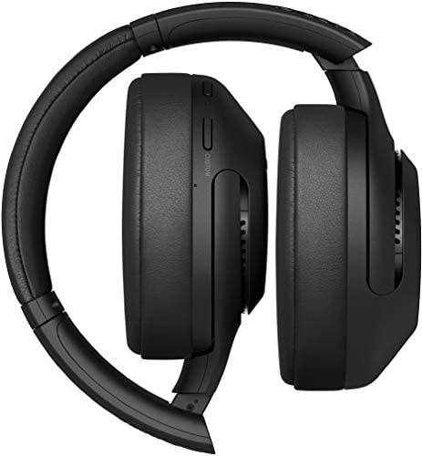 Sony WH-XB900N Wireless Bluetooth Noise Cancelling Extra Bass Headphones with 30 Hours Battery Life, Touch Control, Quick Attention Mode, Headset with mic for Phone Calls with Alexa – (Black)