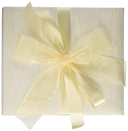 Tres Beau Wedding Accessories Wedding Photo Album, 8-Inch by 8-Inch, White